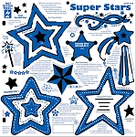 Hot off the Press-12x12 Template-Super Stars