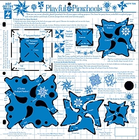 Hot off the Press - 12x12 Template - Playful Pinwheels