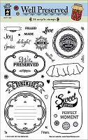 Hot Off The Press - Clear Stamps - Well Preserved