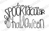 Impression Obsession - Cling Mounted Rubber Stamp - By Lindsay Ostrom - Spookatcular Halloween