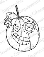 Impression Obsession - Cling Mounted Rubber Stamp - By Lindsay Ostrom - Ole Whatshisname