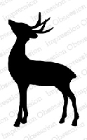 Impression Obsession - Cling Mounted Rubber Stamp - By Alesa Baker - Deer Dear