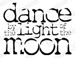 Impression Obsession - Cling Mounted Rubber Stamp - By Kalani Allred - Dance by the Light of the Moon