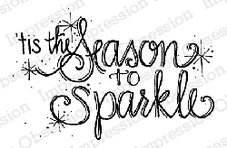 Impression Obsession - Cling Mounted Rubber Stamp - By Lindsay Ostrom - Season To Sparkle
