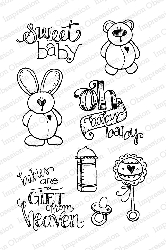 Impression Obsession - Clear Stamps - By Lindsay Ostrom - Baby Bird  Set