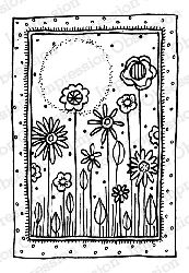 Impression Obsession - Cling Mounted Rubber Stamp - By Lindsay Ostrom - Sierra Sunset
