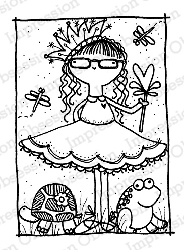 Impression Obsession - Cling Mounted Rubber Stamp - By Lindsay Ostrom - Audrey