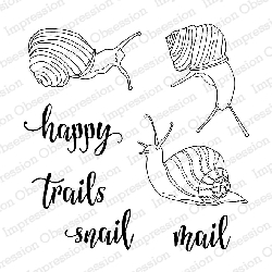 Impression Obsession - Clear Stamps - By Dina Kowal - Happy Trails