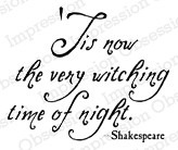 Impression Obsession - Cling Stamp - by Kalani Allred - Witching Time