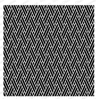 Impression Obsession - Cover A Card - Diagonal Weave Cling Mounted Rubber Stamp