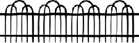 Impression Obsession - Cling Stamp - Cottage Fence by Alesa Baker