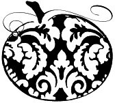 Impression Obsession Cling Mounted Rubber Stamp - Tapestry Pumpkin