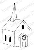 Impression Obsession - Cling Stamp - by Alesa Baker - Village Church