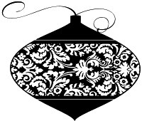 Impression Obsession - Cling Stamp - Tapestry Ornament