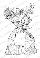 Impression Obsession - Cling Mounted Rubber Stamp - By Tara Caldwell - Gift Bag