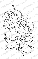 Impression Obsession - Cling Stamp - by Alesa Baker - Beauty Roses