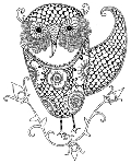 Impression Obsession-Cling Stamp-Owl