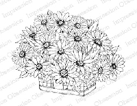 Impression Obsession - Cling Mounted Rubber Stamp - By Tara Caldwell - Daisy Basket
