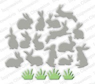 Impression Obsession - Die - Mini Bunnies
