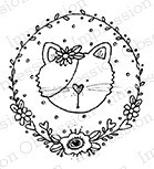Impression Obsession - Cling Mounted Rubber Stamp - By Lindsay Ostrom - Kitty Circle