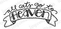 Impression Obsession - Cling Mounted Rubber Stamp - By Lindsay Ostrom - Cat Heaven