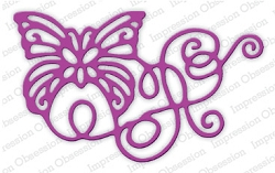 Impression Obsession - Die - Ribbon Butterfly