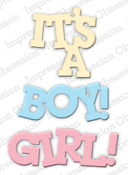 Impression Obsession - Die - Baby Girl & Boy