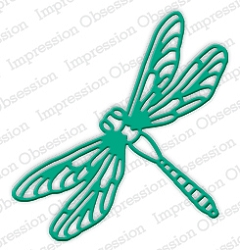 Impression Obsession - Die - Large Dragonfly