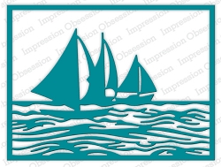 Impression Obsession - Die - Sailboat Frame