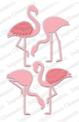 Impression Obsession - Die - Flamingo Set
