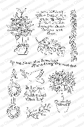 Impression Obsession - Clear Stamps - By Peggy Jo Ackley - Olive Branch