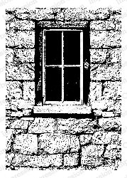 Impression Obsession - Cling Mounted Rubber Stamp - By Tara Caldwell - Looking Window