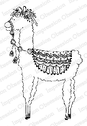 Impression Obsession - Cling Mounted Rubber Stamp - By Lindsay Ostrom - Lolly Llama