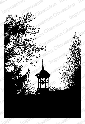 Impression Obsession - Cling Mounted Rubber Stamp - By Tara Caldwell - Bell Tower