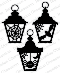 Impression Obsession - Die - Halloween Lanterns