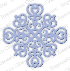 Impression Obsession - Die - Snowflake 1
