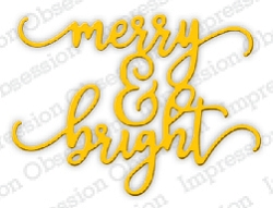 Impression Obsession - Die - Merry & Bright