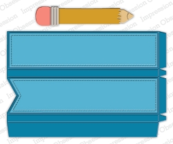 Impression Obsession - Die - Pencil Favor Box