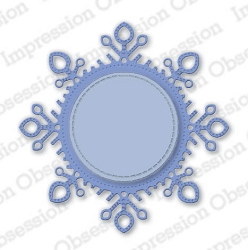 Impression Obsession - Die - Snowflake Frame
