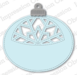Impression Obsession - Die - Snowflake Ornament Tag