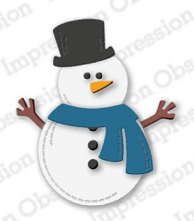 Impression Obsession - Die - Snowman