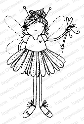 Impression Obsession - Fairy Magic Cling Mounted Rubber Stamp By Lindsay Ostrom