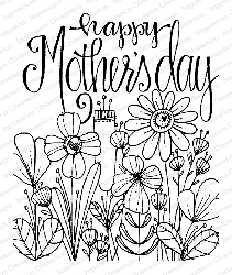 Impression Obsession - Mother's Day Cling Mounted Rubber Stamp By Lindsay Ostrom