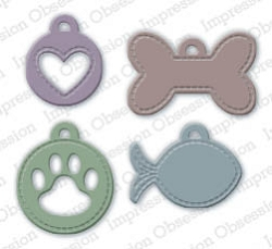 Impression Obsession - Die - Pet Tags