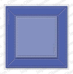 Impression Obsession - Die - Stitched Square Frame