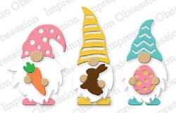 Impression Obsession - Die - Easter Gnomes