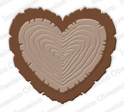 Impression Obsession - Die - Wooden Heart