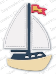 Impression Obsession - Die - Small Sailboat