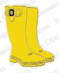 Impression Obsession - Die - Rain Boots