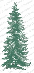 Impression Obsession - Norway Spruce Slimline Cling Mounted Rubber Stamp Set